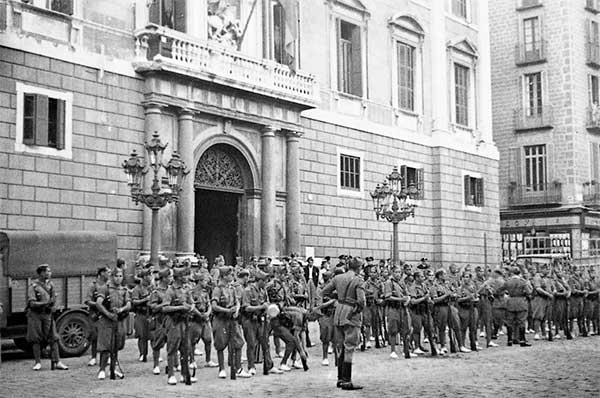 Generalitat Barcelona octubre 1934