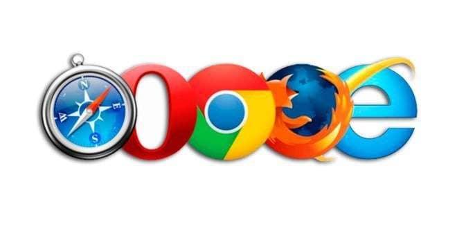 navegadores web cookies
