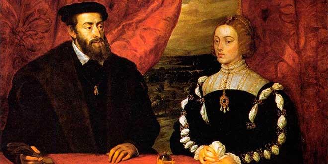 carlos I e Isabel de portugal