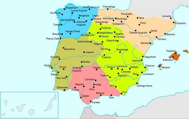 ciudades romanas hispania