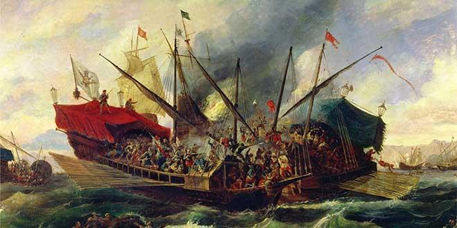 embarcacion batalla lepanto