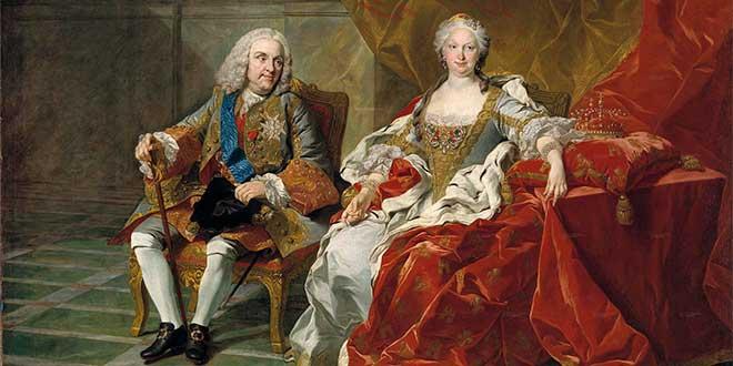 Felipe V e Isabel de Farnesio