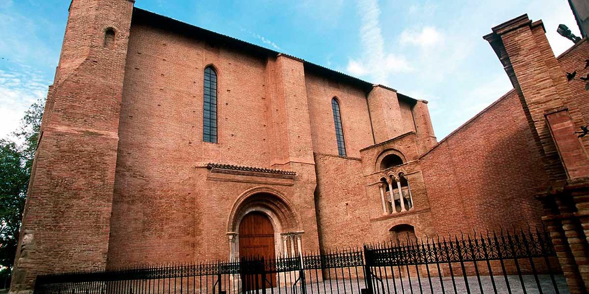 Iglesia Saint Pierre des Cuisines en Toulouse o Tolosa