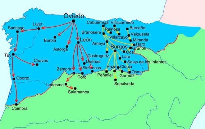 mapa repoblacion del duero