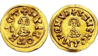Moneda visigoda, Recaredo I