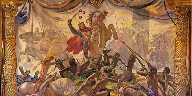 Alfonso VIII de Castilla en Navas de Tolosa