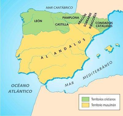 peninsula iberica siglo X