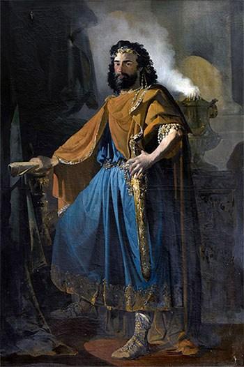 Pintura del Rey visigodo Eurico