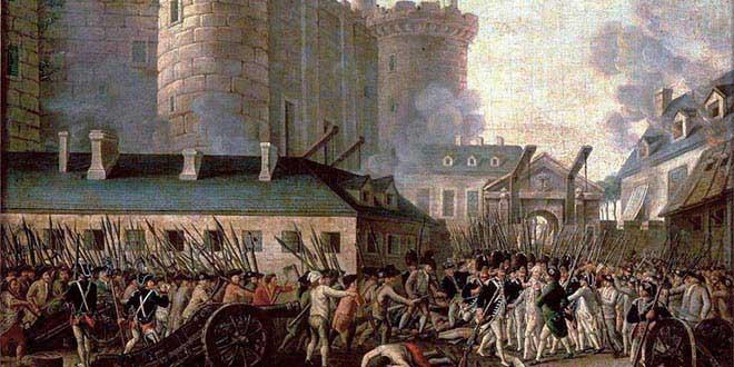revolucion francesa toma la bastilla